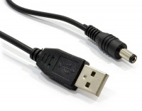 USB to DC Power Cable - 5.5mm Plug (DC 5v)