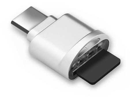 USB Type-C Micro SD Card Reader (Photo )