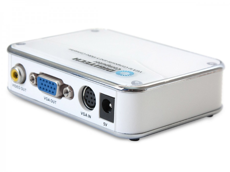 VGA to Composite Video and S-Video Converter (Photo )