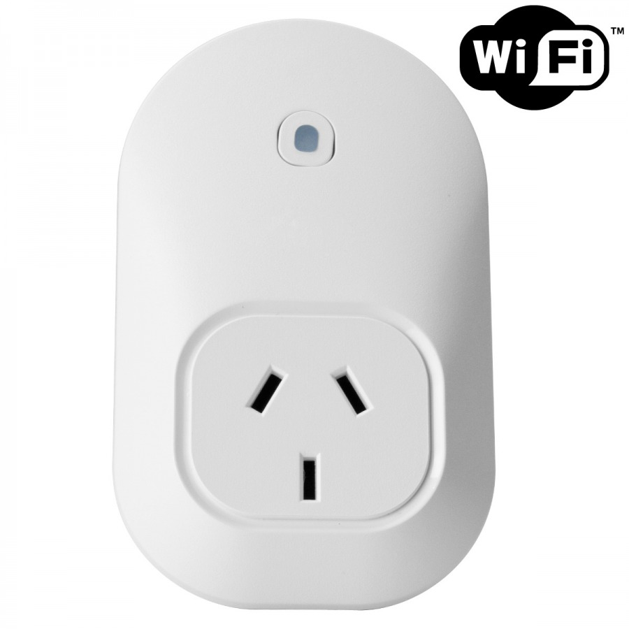 WiFi Smart Socket - Wireless 240v Outlet for iOS and Android