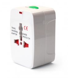 Worldwide Travel Sized Mains Power Socket Adapter