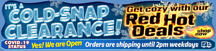 Cable Chick Annual Cold-Snap Clearance Sale is on now!