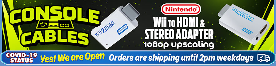 Add HDMI conectivity to your Nintendo Wii with this handy converter!