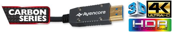 Avencore Carbon Series Active Optical HDMI Overview