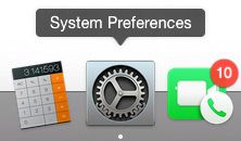 Mac Systen Preference Dock Icon