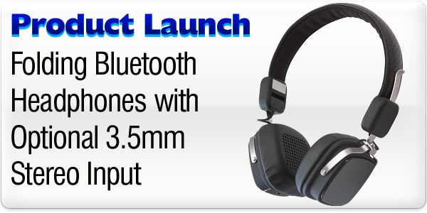 Product Launch - Folding Bluetooth Wireless Headset