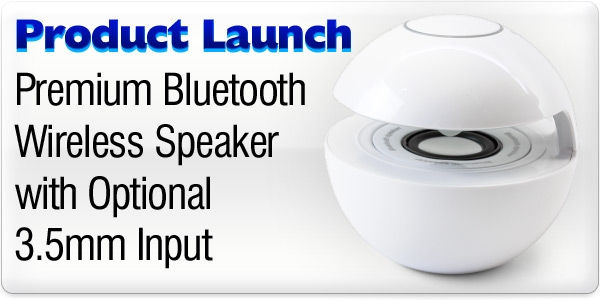 Product Launch - Premium Bluetooth Wireless Speaker